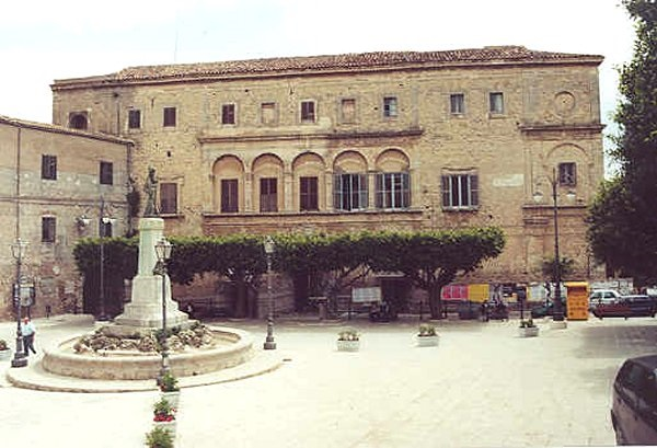 ARAGONA Palazzo del Principe Naselli