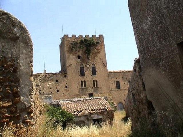 ARAGONA torre del Salto d'Angiò