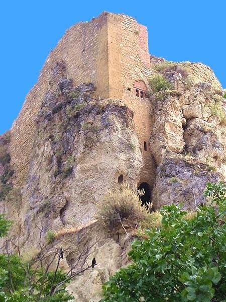 Caltanissetta Resti del castello di Pietrarossa