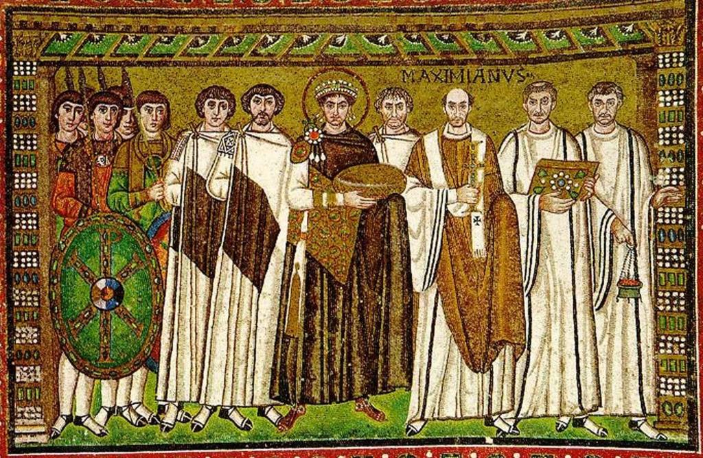 Empereur Justinien Byzantin