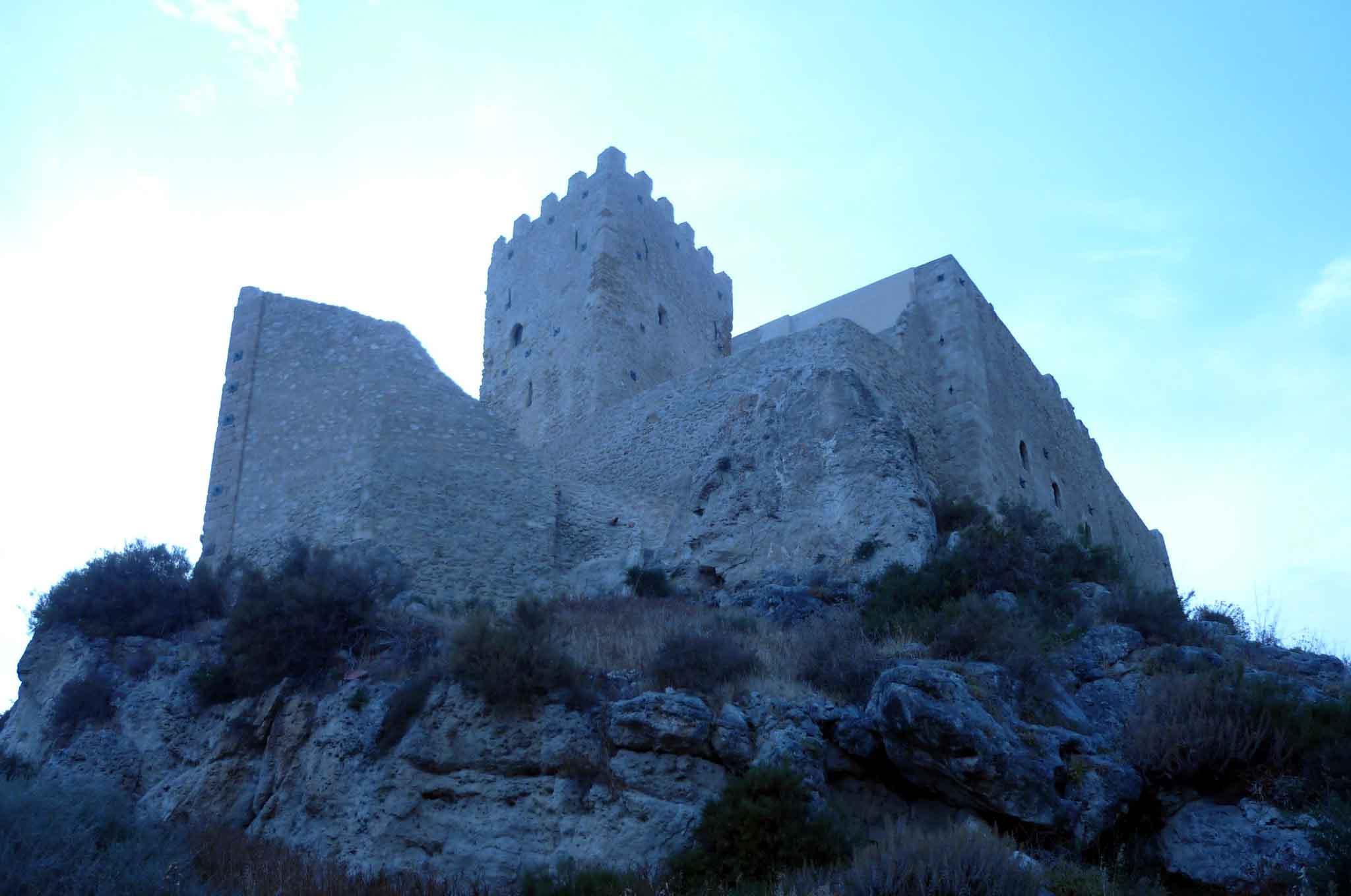 Palma di Montechiaro Castello Chiaramonte Caro Comte di Lampedusa